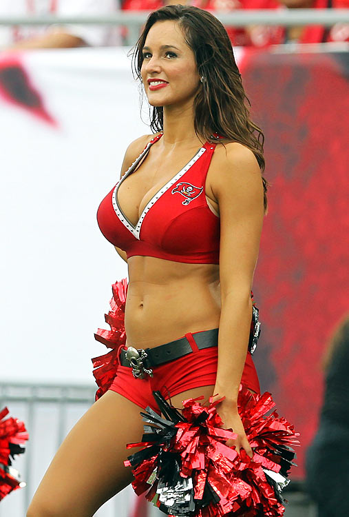 12 Rebecca Shedden Tampa Bay Buccaneers Cheerleaders (Hottest NFL Cheerleaders of 2012)