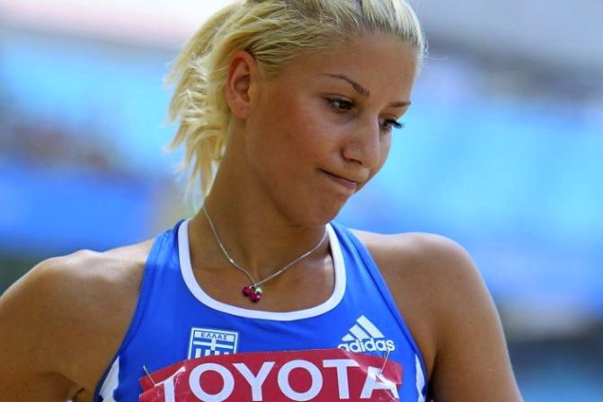 12 Voula Papachristou greek athlete racist tweet - athletes on santa's naughty list 2012