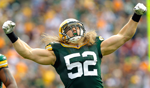 13 Clay Matthews - top bestselling NFL Jerseys