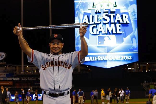 13 Melky Cabrera steroids all star game mvp - athletes on santa's naughty list 2012