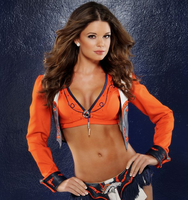 13 Toni D. Denver Broncos Cheerleader (Hottest NFL Cheerleaders of 2012)