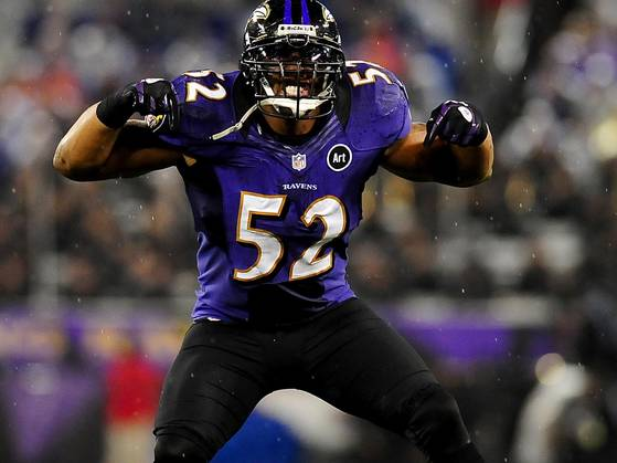 15 Ray Lewis - top bestselling NFL Jerseys
