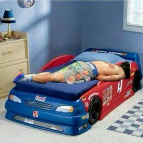 15 manny pacquiao lying in race car bed meme