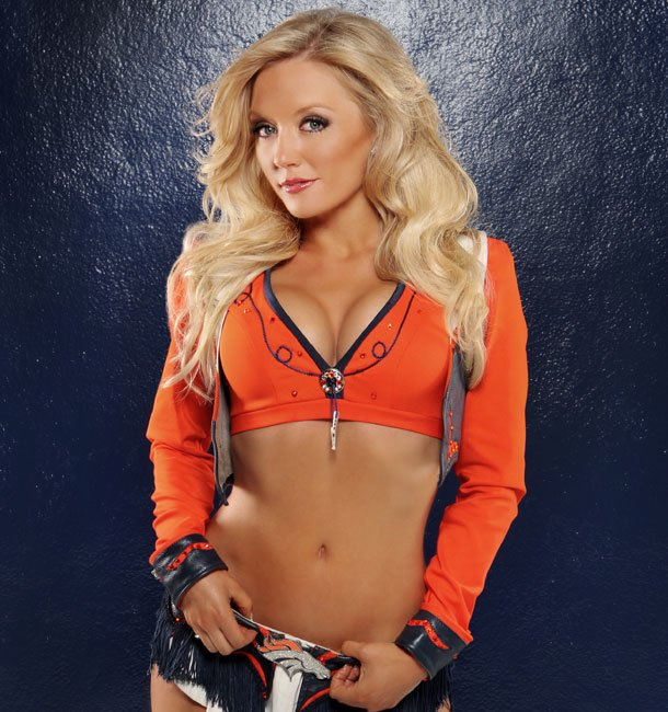 18 Heather Denver Broncos Cheerleader (Hottest NFL Cheerleaders of 2012)