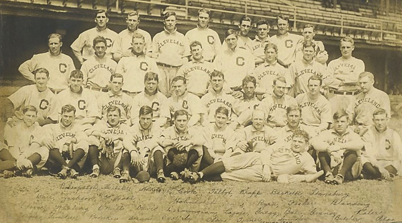 1912 cleveland naps - teams who changed names not cities