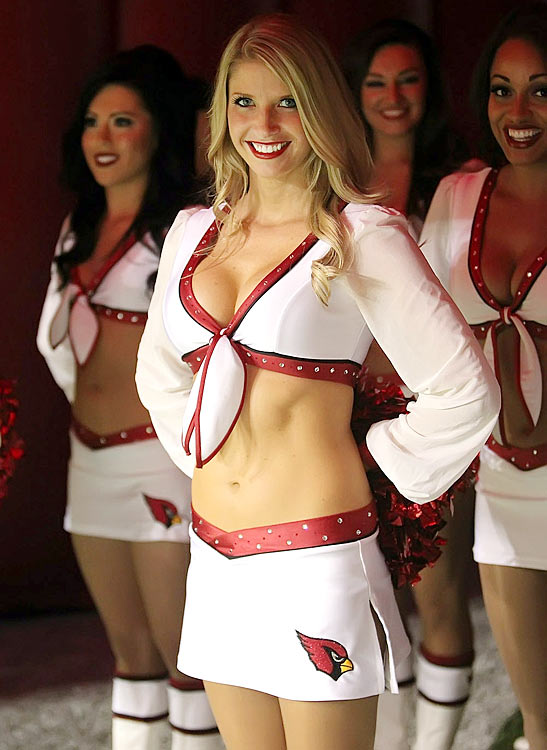 20 Jacque - Arizona Cardinals Cheerleader (Hottest NFL Cheerleaders of 2012)