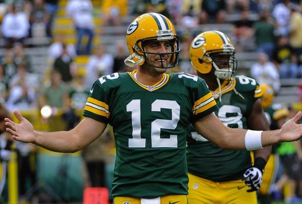 3 Aaron Rodgers - top best selling NFL jerseys