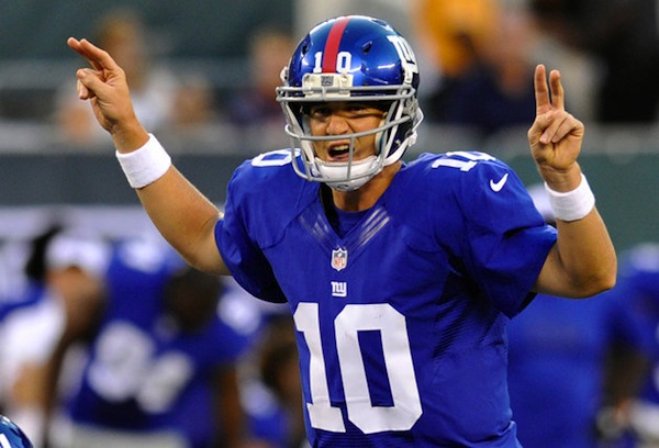 4 Eli Manning - top best selling NFL jerseys