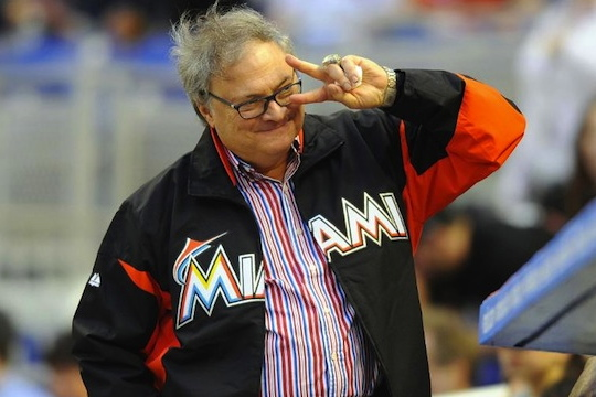 4 jeffrey loria marlins owner - athletes on santa's naughty list