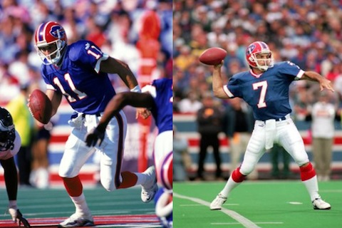 4 rob johnson and doug flutie (quarterback controversies)