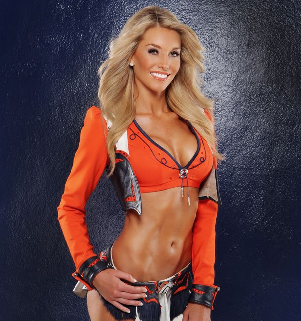 5 Candace Denver Broncos Cheerleader (Hottest NFL Cheerleaders of 2012)