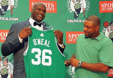 5 shaquille o'neal celtics - athletes who joined the enemy played on both sides of rivalry