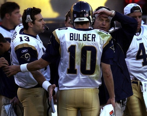 7 kurt warner and marc bulger (quarterback controversies)
