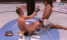 Nate Diaz Flipped Ben Henderson the Bird During UFC on Fox on Saturday (Video)