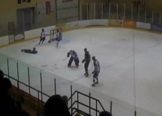 hockey full front flip