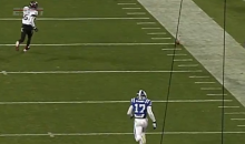 Duke's Will Monday Kicked an Unbelievable 79 Yard Punt at the Belk Bowl (Video)