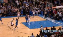 Mavs' Darren Collison Sinks Circus Shot at the Buzzer to Send Game to Overtime (Video)