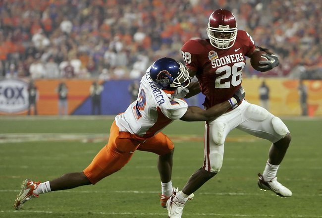 adrian peterson oklahoma sooners (freshmen who didn't win heisman)