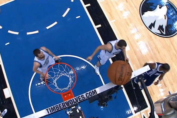 amazing shot by kevin durant