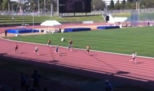 Elementary School Kid Completes Epic Relay Comeback for the Ages (Video)