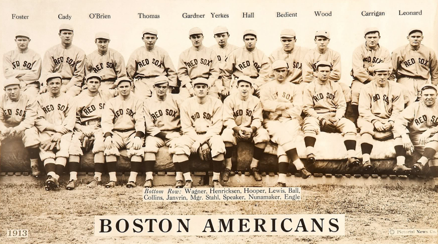boston americans - teams that changed names not cities