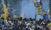 Boca Juniors Fans Rioted Yesterday in Buenos Aires…Just for the Hell of It (Video)
