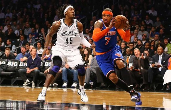 carmelo anthony knicks nets