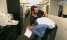 Dustin Penner Got an Internship With Conan O'Brien During the Lockout (Video)