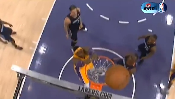 dwight howard missed dunk