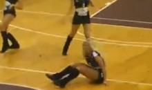 This Cheerleader Hasn't Quite Mastered the Basic Cheerleading Skills (Video)