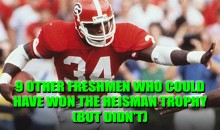 9 Other Freshman Who Could Have Won the Heisman Trophy (But Didn't)