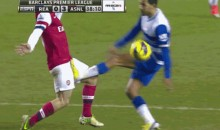 Arsenal's Jack Wilshere Receives an Epic Nutshot (GIF + Video)