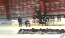 Watch This Guy Jump Over 14 Kids on Ice Skates (Video)