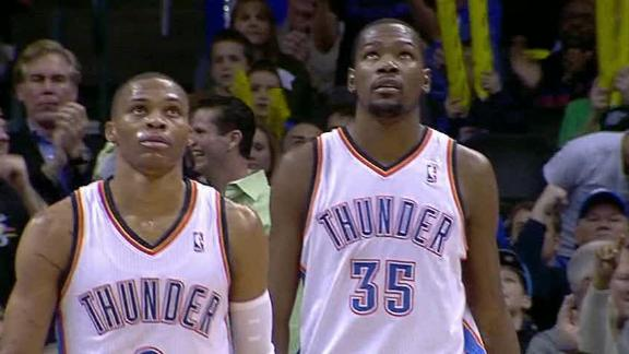 kevin durant okc vs no