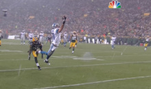 Kris Durham and Jason Avant Make Spectacular One-Handed Catches (Video)