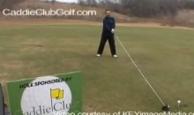 Texas Golf Pro Drives a Ball 146 Yards with a 14-Foot Golf Club (Video)