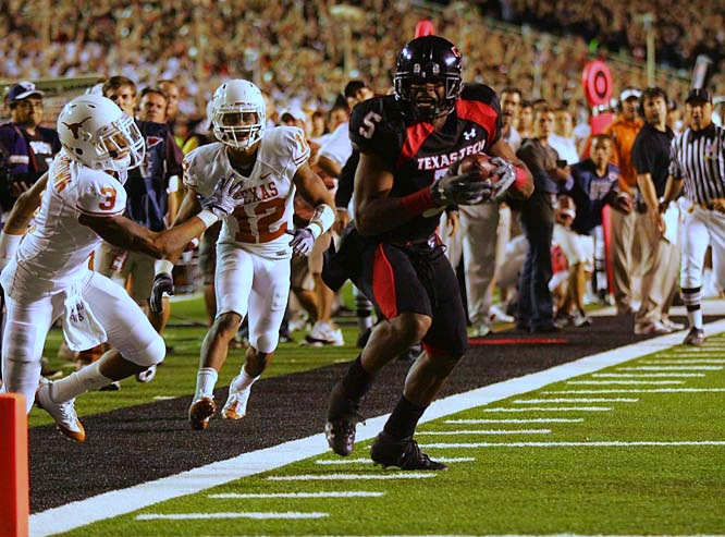 michael crabtree texas tech (freshmen who didn't win heisman)