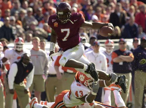 michael vick virginia tech (freshmen who didn't win heisman)