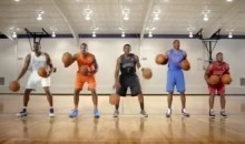"NBA Superstars Use Basketballs To Play ""Carol Of The Bells"" (Video)"