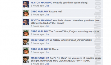 NFL Quarterbacks Conversation On Facebook (Week 13)