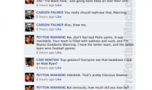 NFL Quarterbacks Conversation On Facebook (Week 14)