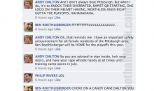 NFL Quarterbacks Conversation On Facebook (Week 16)