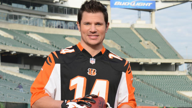nick lachey ejected bengals game
