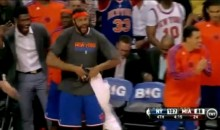 "Rasheed Wallace Does The ""Discount Double Check"" (Video)"