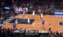 Knicks' Raymond Felton Delivers the Worst Field-Goal Attempt of the Season (Video)