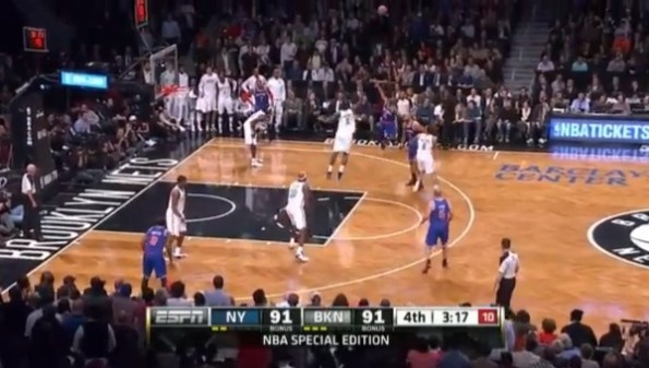 raymond felton missed shot