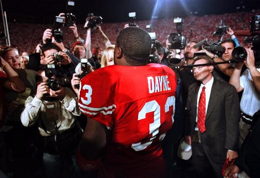 ron dayne wisconsin (freshmen who didn't win heisman)