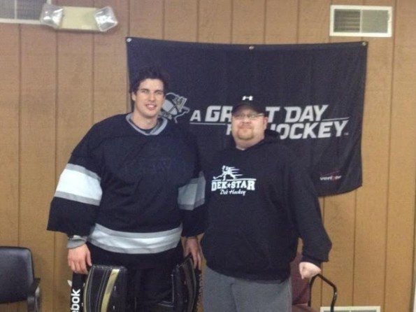 sidney crosby ball hockey