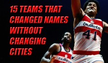 15 Teams that Changed Names Without Changing Cities