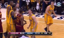 Tyler Hansbrough Defends Younger Brother During Altercation with the Cavs (Video)